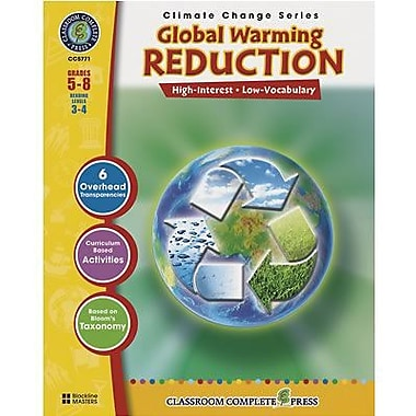 Classroom Complete Press Classroom Complete Global Warming Reduction Book, Grade 5th - 8th (CC5771)