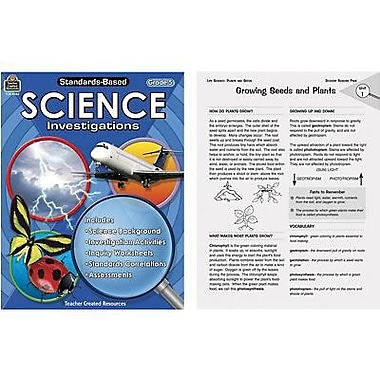 Teacher Created Resources® Standards-Based Science Investigation Book, Grades 5th