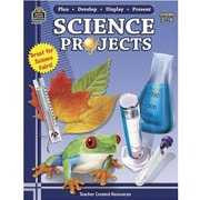 Teacher Created Resources  Science Project Book By Plan-Develop-Display, Grades 3rd - 6th