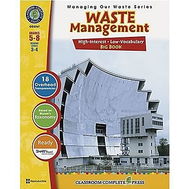 Classroom Complete Press Waste Management Big Book, Grade 5th - 8th (CC5767)