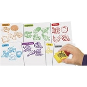 Educational Insights® Healthy Foods Stamp Set