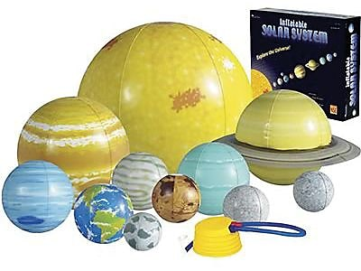 Learning Resources Inflatable Solar System Demonstration Set