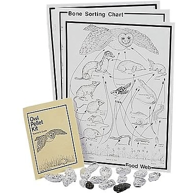 Pellets® Owl Pellet Traditional Classroom Kit, Grades Pre School - 12th
