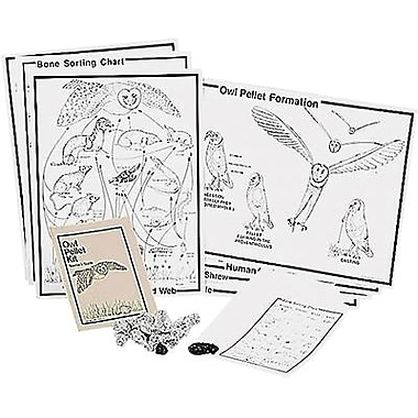 Pellets® Owl Pellet Traditional Classroom Kit, Grades 5th - 8th