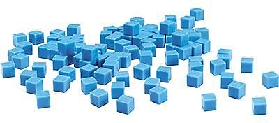 Learning Resources® Base Ten Components 100 Blue Units