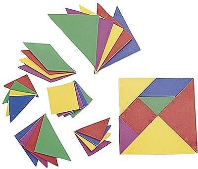 Learning Advantage™ Tangrams, Set Of 4