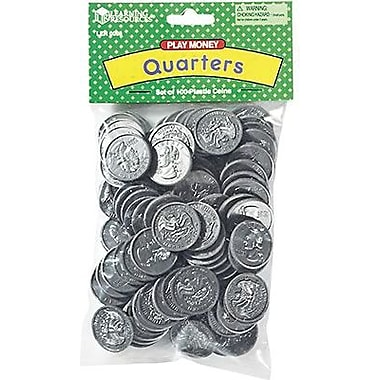 Learning Resources® Play Money In Bulk, Quarters