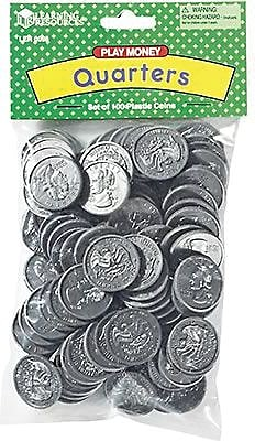 Money, Learning Resources® Quarters Pack of 100