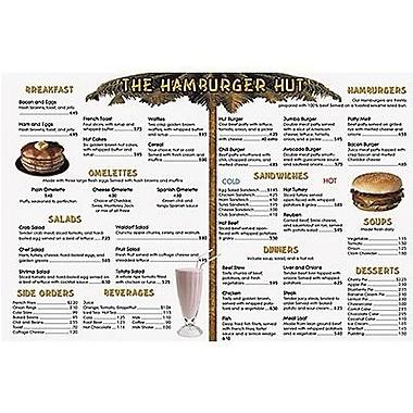 Remedia® Real World Menu Math Hamburger Hut Book, Grades 3rd - 6th