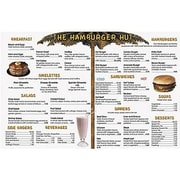Real World Math, Remedia Menu Math, Hamburger Hut, Extra Menus, 6/Set