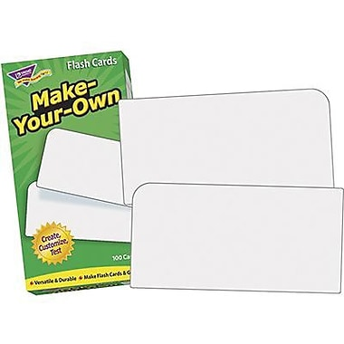 Trend Enterprises Skill Drill Flash Cards, Make Your Own (T-53010)