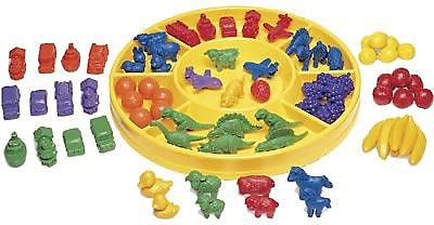 Counting & Sorting, Learning Resources® Circular Sorting Tray