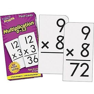 Trend Enterprises® Skill Drill Flash Cards, Multiplication 0 - 12