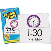 Trend Enterprises® Skill Drill Flash Cards, Telling Time