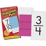 Trend Enterprises – Cartes d'exercices de répétition, fractions amusantes (T-53109)