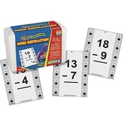 Educational Insights® Hot Dots Math Flash Cards, More Subtraction