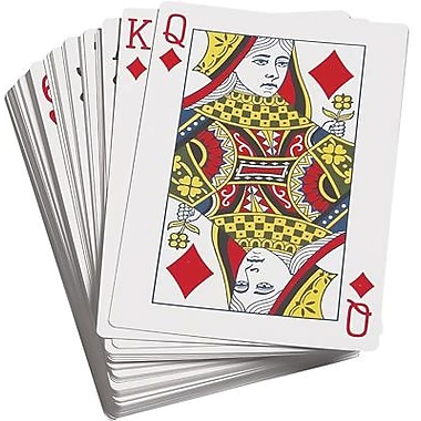Learning Advantage Probability Giant Playing Cards, 2/Pack (CTU7658)