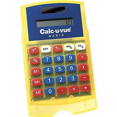Learning Resources® Basic Student Calculator, Grades Kindergarten - 3rd