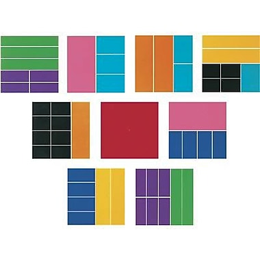Learning Resources® Deluxe Rainbow Fraction Squares, Grades 1st - 8th