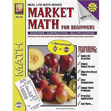 Remedia® Market Math For Beginners Book, Grade 1 - 3 (REM125A)