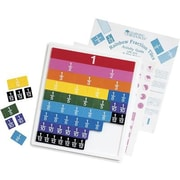 Learning Resources® Rainbow Fraction Tiles, Grades 1st - 8th