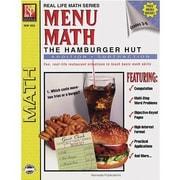 Remedia® Menu Math Hamburger Hut Book 1st, Addition and Subtraction, Grades 3rd - 6th