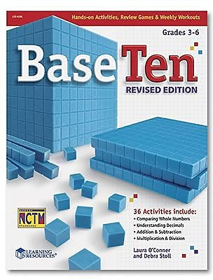 Base Ten & Place Value, Learning Resources® Base Ten Revived Activity Book (LER4296)