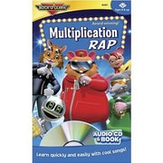 Rock 'N Learn® Audio CD and Book, Multiplication Rap, Grades 6th - 12th