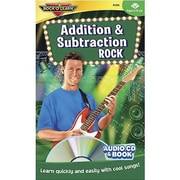 Rock 'N Learn® Audio CD and Book, Addition and Subtraction Rock, Grades 1st - 12th
