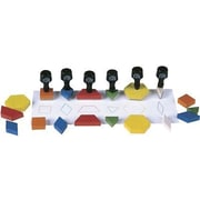 Center Enterprises Pattern Block Stamp, 6/Pack (CE-801)