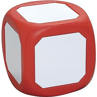 Probability, Learning Advantage™ Magnetic Write-On Wipe-Off Die, Large, Red