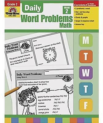 Evan-Moor® Daily Word Problems, Grade 2