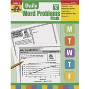 Evan-Moor® Daily Word Problems Book, Grades 5th