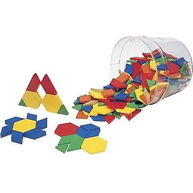 Learning Resources® Pattern Block, 0.5 cm Thickness