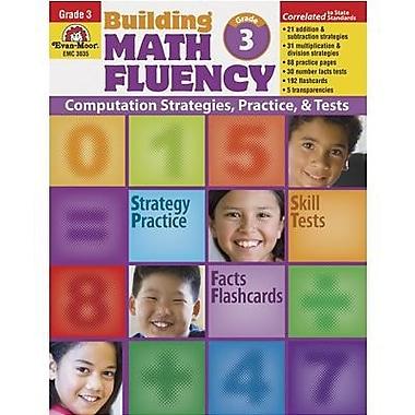 Evan-Moor® Building Math Fluency Book, Grades 3rd