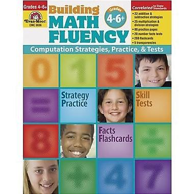 Evan-moor® Building Math Fluency Book, Grades 4th - 6+