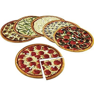 Learning Resources® Magnetic Pizza Fraction Set, Grades 1st - 3rd