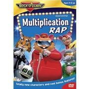 Rock 'N Learn – DVD, Rap de multiplication (RL-921)