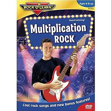 Rock 'N Learn Dvd Video, Multiplication Rock (RL-922)