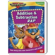 Rock 'N Learn® DVD Video, Addition and Subtraction Rap (RL-923)