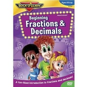 Rock 'N Learn Dvd Video, Beginning Fractions And Decimals (RL-981)