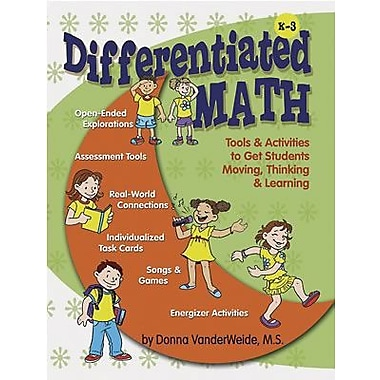 Essential Learning Differentiated Math Resources And Activities Book, Kindergarten - 3 (ELP454898)