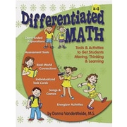 Essential Learning Differentiated Math Resources and Activities Book, Grades Kindergarten - 3rd