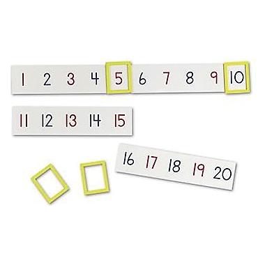 Learning Resources® Magnetic Number Line, Grades Kindergarten - 1st
