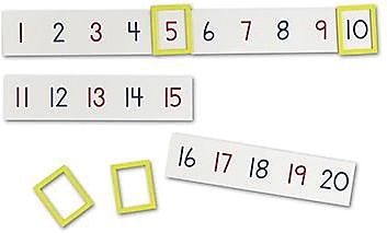 Learning Resources® Magnetic Number Line, Grades Kindergarten - 1st