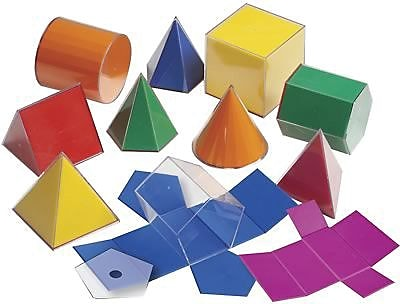 Learning Advantage™ Folding 3-D GeoFigures™, 10Cm