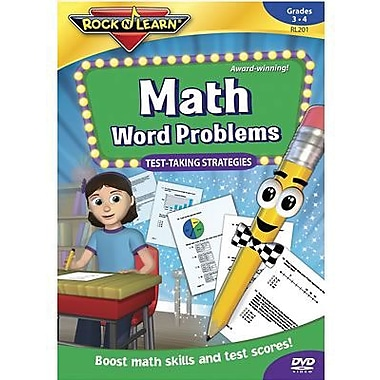 Rock 'N Learn® Math Word Problems DVD (RL-201)