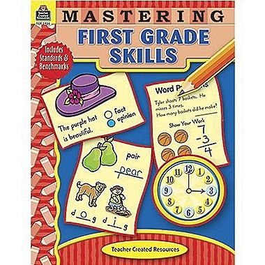 Teacher Created Resources Mastering First Grade Skills Book, Grade 1 (TCR3956)