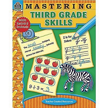 Teacher Created Resources® Mastering Third Grades Skills Book, Grades 3rd