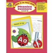 Evan-Moor® Take It To Your Seat Phonics Centers Teacher Resource Book, Grades Pre Kindergarten-K